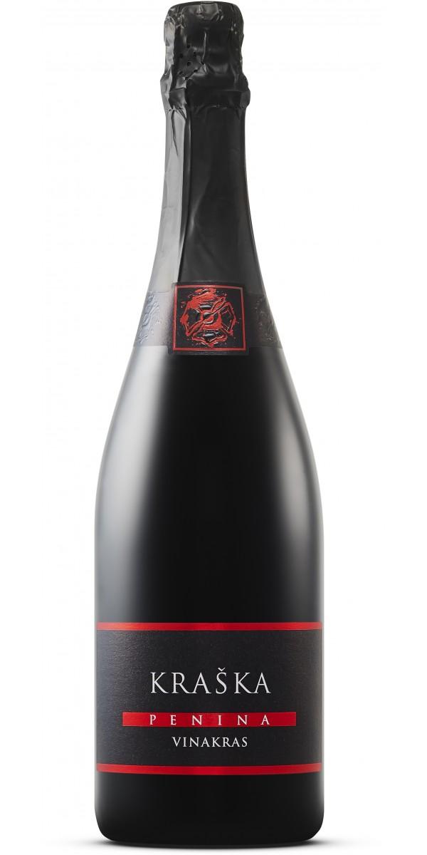 KRAŠKA PENINA - Red sparkling wine