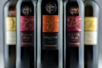Vinakras - Ponudba vin -ANG