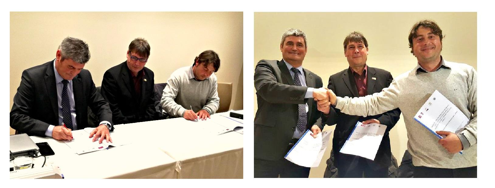 Podpis dogovora