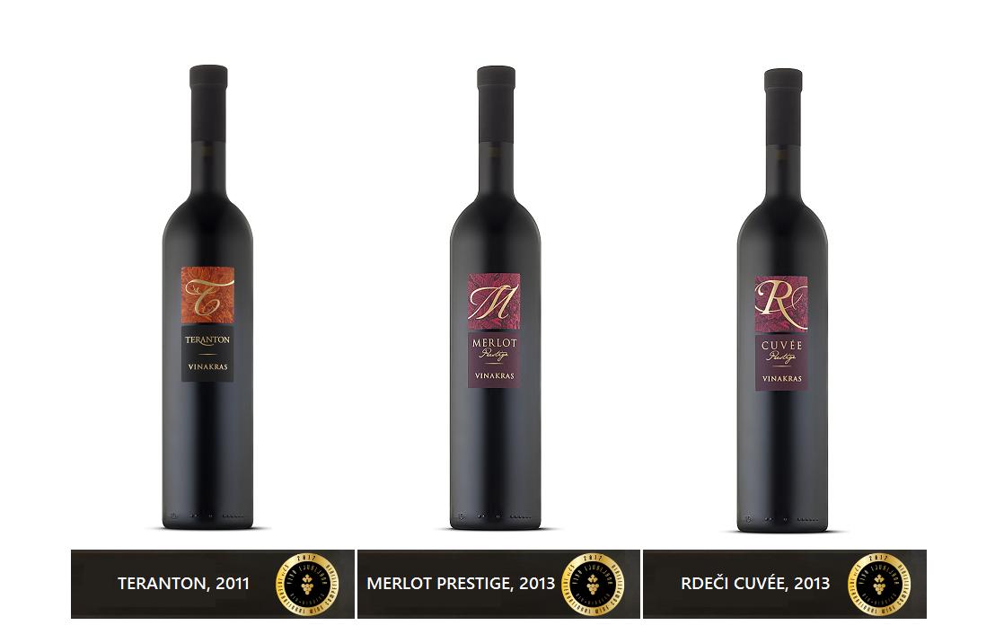 Nagrajena vina - VINO LJUBLJANA