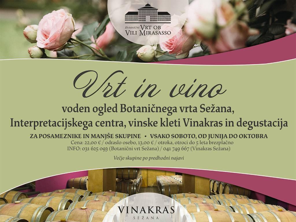 Vrt in vino